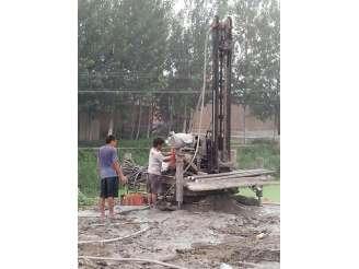 天津旋喷桩施工现场